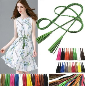 New tassel belt small act the role of rope waist belt Ladies fashion belts accessories Belts C063