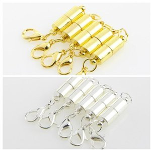 실버 / 골드 도금 마그네틱 목걸이 목걸이는 팔찌 모양의 목걸이 팔찌 쥬얼리 DIY에 대한 모양의 도금