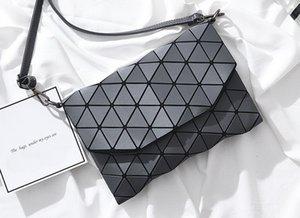 Yeni kadın Elmas Kafes cüzdanlar bayan tasarımcı Çanta Kapitone Ekose Omuz Crossbody Çanta siyah / şarap kırmızı / gri / siyah / pembe renk no308