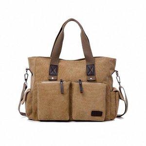 ForUForM homens lona bolsa saco do mensageiro da escola bolsa de marca famosa dos homens saco do estilo do vintage bolsa de viagem bolsa de ombro LI-998
