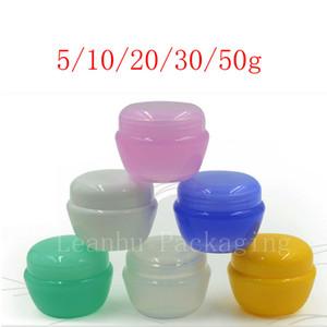 Pilz-Creme-Glas, leerer Plastikkosmetik-Verpackungs-Behälter, Proben-Sack-Verpackung, nachfüllbarer kosmetischer Haut-Produkt-Behälter
