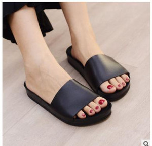 Nueva llegada para mujer la mejor moda sandalias causales tian / flores impresión flor deslice sandalias envío gratis