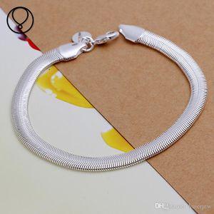 Snap Charms Armband für Frauen Männer Snap Schmuck Armbänder Armreif Charms 925 Ale Infinity Schlange 925 Sterling Silber Armbänder