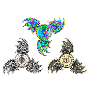 2017 Thrones Fidget Spinner Dragon Eyes Metal Hand Spinner Finger Spinner Anti Stress Tri Spiner Toys for Autism and ADHD