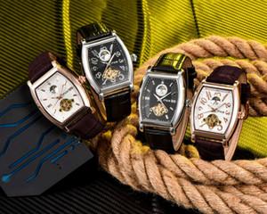 Nova Tendência OEM Aço Inoxidável China Fornecedor Pulseira De Couro Genuíno Relógio De Pulso De Luxo Homens U09888 PPP