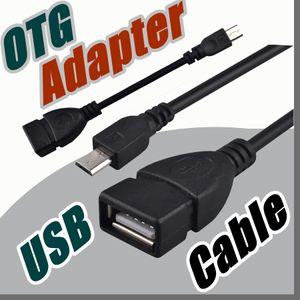 CH OTG 케이블 태블릿 PC 용 마이크로 USB 오디오 비디오 삼성 레노버 ZTE 화웨이 미 노트 MP3 MP4 MP5 U 디스크 어댑터 케이블 C-PS