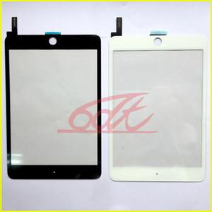 Panneau écran tactile Digitizer pour Ipad Mini 4 A1538 A1550 Tablet pièces de rechange No Home Bouton Sans adhésif