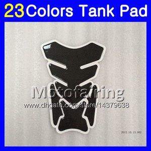 23Colors 3D углеродного волокна газа танк Pad протектор для Ducati 748 853 916 996 998 96 97 98 99 00 01 02 1996 1997 1998 2002 3D танк крышка наклейки
