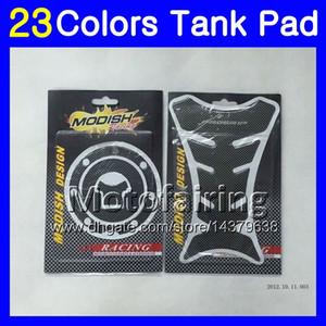 23Colors 3D Carbon Fiber Pad Protector per HONDA CBR600F3 95 96 97 98 CBR600 F3 CBR 600 F3 1995 1996 1997 1998 3D Tank Cap Sticker