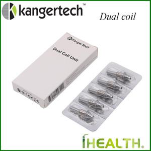 Kangertech Dual Coil-Einheit für Kangertech Cartomizer Upgraded Kanger Dual Coil Kopf für Aerotank Protank 3 EVOD Glasbehälter Authentic