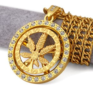 Collana girocollo in acero foglia oro placcato oro 18k con ciondolo ceco Collana con ciondolo in argento con ciondolo a forma di ceca