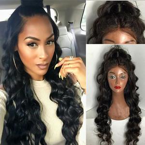 Glueless Volle Spitzeperücken Brasilianische Reine Haarkörperwelle Spitzefront Menschliches Haar Perücke Frauen Schwarze Perücken Für Verkauf Gluleless Lace Perücke