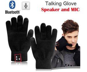Привет-Вызов Bluetooth Перчатки Спикер Магия Говорящие Перчатки Полный Сенсорный Перчатки Для Мобильных Телефонов Мобильные Телефоны Hands-Free Touch Функция