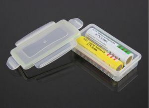 Plástico ABS Caja Impermeable 18650 Organizador de Caja de Almacenamiento de Soporte de Batería Para 18650 CR123A 16340