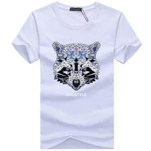 2017 nueva marca de Fitness camiseta de algodón tops camisetas hombres de manga corta chico casual homme camiseta camiseta más la moda