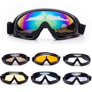 ROBESBON X400 противотуманные УФ зима Спорт на открытом воздухе Сноуборд страйкбол пейнтбол защитные очки мотоцикл лыжные очки