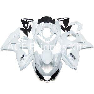 3 cadeaux gratuits Nouveau Suzuki GSXR1000 GSX R1000 K9 K11 09 10 11 12 13 14 GSX R1000 k9 k11 2009 2010 2012 2013 ABS Kit carénage moto blanc