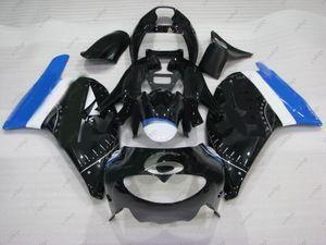 Kits de cuerpo completo para Aprilia RS250 96 95 Kits de carenado RS 250 1996 Kits de cuerpo negro RS250 1995 1994 - 1996