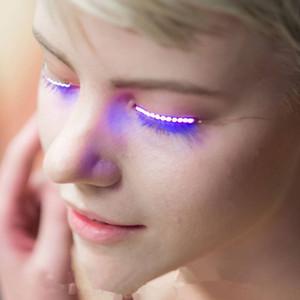 LED Flicker Faux Cils RGB Jouets Couleur Mode 3V Yeux Clignotant Lumière Spéciale Danse Piscine Direct Shenzhen Chine Fabrication En Gros