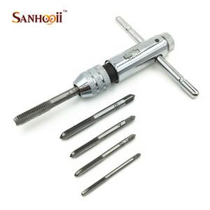 High Qulatiy Mini Steel Ratchet Wrench Tap M3-M8 DIY Аксессуары для ручных инструментов