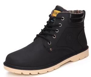SURGUT Marke Heiße Neueste Halten Warme Männer Winterstiefel Hohe Qualität pu Leder Freizeitstiefel Arbeits Fahsion Stiefel Ätherische Schuhe größe 39-44