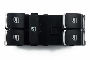 VW Touran Tiguan Passat B7 CC Golf MK5 için MK6 Sürücü Yan Ana Pencere Kaldırıcı Anahtarı Denetleyici Anahtarı Krom 5ND 959 857