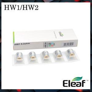 أصيلة لفائف Eleaf HW سلسلة HW1-C أحادية الاسطوانة HW1 HW2 مزدوجة الاسطوانة 0.3ohm ل ELLO Mini Atomizer HW3 Head HW4 Head for Ello