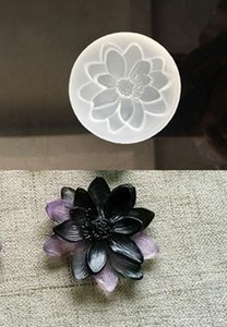 1 Pcs Lotus Silicone Pendant DIY Mold Pendant Jewelry Making Tool Resin Accessories Home Crafts resin molds for jewelry
