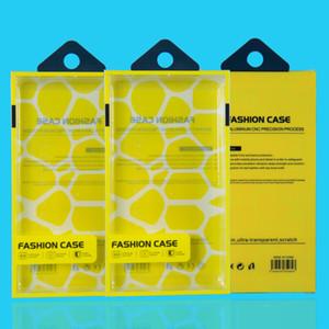 Caixa universal do empacotamento do retalho plástico do PVC do pacote da caixa do telefone móvel com inserção interna para para o telefone andriod HTC Cell Phone Case Fit 5.7inch