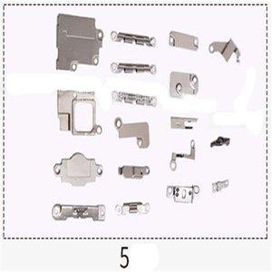 Tam Set Aksesuarlar İç Küçük Parçalar PCB Metal Demir Parantez Shield Plate Montaj iPhone 5 5s 6 6S 6P 7 Plus'ın 5c