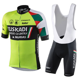 EUSKADI mens Ropa Ciclismo Abbigliamento da ciclismo / MTB Abbigliamento bici / Abbigliamento bici / 2019 uniforme da ciclismo Maglie ciclismo 2XS-6XL A65