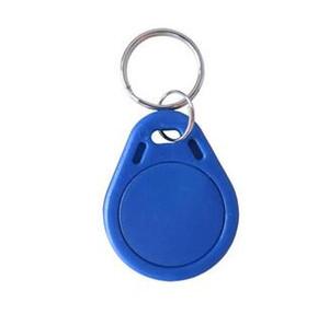 أفضل أرخص سعر المصنع جعل جودة عالية TK4100 125 كيلو هرتز 100 قطعة / الوحدة ISO11785 abs rfid مخصص سلاسل المفاتيح البلاستيكية كه فوب