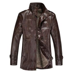 Gros-YG6063-9Cheap en gros 2016 nouveau collier d'automne avec velours hommes cultiver sa moralité loisirs veste en cuir manteau