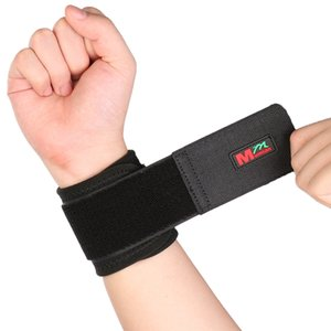 Wholesale- Adjustable Sport Elastic Stretchy Wrist Support Wrist Joint Brace Support Wrap Band Wrist Support Wristband Use For Fitness