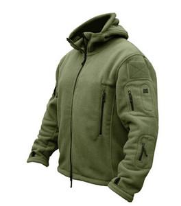 Kış Askeri Taktik Açık Havada Softshell Polar Ceket Erkekler ABD Ordusu Polartec Spor Giyim Sıcak Rahat Hoodie Ceket Ceket
