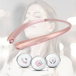 HBS1100 için Bluetooth Kablosuz Kulaklık CSR4.1 Boyun Bandı Spor Kulaklık Hands-Free Kulaklık LG Samsung ile Kutusu