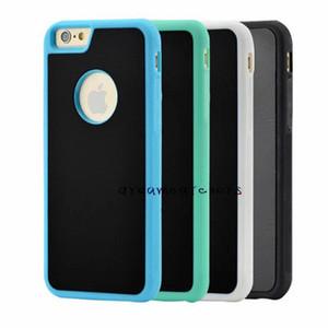 Для iphone 7 Anti Gravity Case Selfie Hybrid Nano всасывания липкие антигравитации крышка ТПУ PC пластиковые магические стены задняя оболочка для iphone 6 Plus
