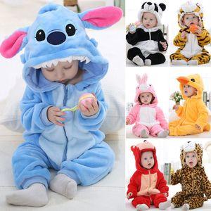 Suaves unisex bebé camisones de niños pijamas kigu animal de la historieta cosplay Onesie rumi traje de mameluco de las muchachas de