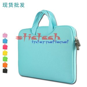 by dhl or ems 100pcs Laptop Handbags Sleeve Case For Macbook AIR PRO Retina 11 13 15 15.6 inch Notebook Bags A57