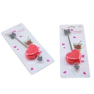 La vendita calda di vendita calda di filtrazione di plastica dell'infusore del filtro dal cucchiaino da tè dei filtri delle bustine di tè di amore di 1 pezzo delle bustine di tè