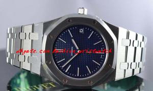 Marca de moda relógios de luxo ultra fino st.oo.1240st.01 azul 39mm quartzo mens relógio homens assiste aos homens relógio de qualidade superior