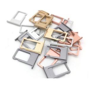 SIM Card Sim Adapters Tray Holder Slot Piezas de repuesto coloridas de alta calidad para Iphone5 6 7