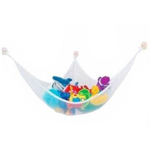 Toptan-Beyaz Pratik Oyuncaklar Hamak Bebek Playroom Düzenli Depolama Bebek Oyuncak Tutucu Tutmak