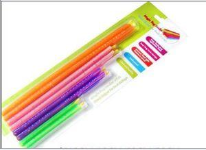 200sets Nuovo arrivo Magic Bag Sealer Stick Unique Sealing Rods Grande aiuto per la conservazione degli alimenti Sigillante chiusura clip morsetto di tenuta