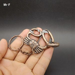 With Key Ring Casual Magic Gadget Tool Toy IQ Brain Teaser Crab Ring Puzzle Christmas Gift Child