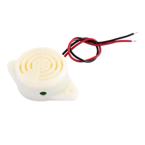 SFM-27 DC 3-24V 90DB Continuons Voice Beep Buzzer Alarm Electronic Buzzer Sounder for Machinery Equiment Industrial Using