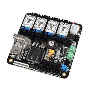 """Freeshipping 3D Printer Parts Facile da usare 3D Lerdge Board con termistore e termocoppie 4pcs TMC2100 da 3,5 """"Touch Screen"""