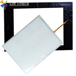 NEUE GT1275 GT1275-VNBA GT1275-VNBA-C HMI PLC TouchScreen UND Front-Etikett Film Touchscreen und Frontlabel