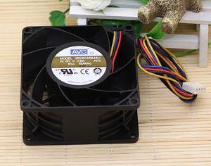 Original AVC 2B08038B48U 8038 48V 0.58A 8cm 4 line PWM dual ball fan