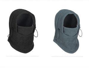 hiver masques Fleece chapeau visage de conduite moto plus chaud de la tête de sport DOR hommes et les femmes chapeau de masque visage Collerette thermique chapeau cycliste